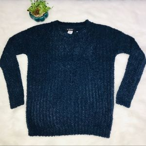 💕NWT-Forever 21 Navy Blue Sweater XXS